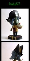 pirate zombie cake time by Poo-Fly