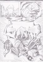 Exorcist page 7 pencils by Lance-Danger