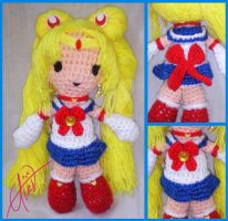 Sailor Moon Amigurumi by Eriamyv