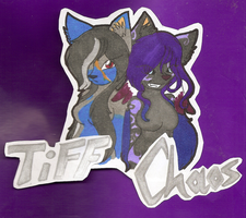 Badge 4 Tiff and Chaos by BlueWaterRose