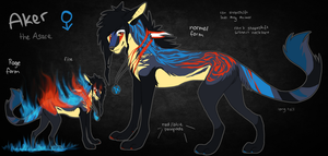 Aker Ref Sheet by ReneahArt