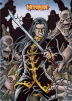 Ian Nottingham Sketch Card by tonyperna