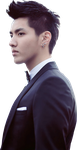 EXO'S KRIS [RENDER] by Michelledae