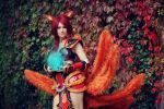 Foxfire Ahri Cosplay - No one will stand in my way by ToukoCosplay