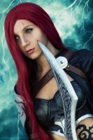 Katarina from League of Legends by Baku-Project