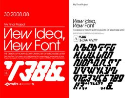 New Idea, New Font by A-Synchronize