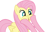 Fluttershy Face by cradet