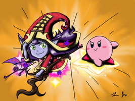 Lulu and Kirby by luicei375
