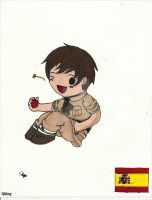 Spain Chibi by InkDrawnDreamer