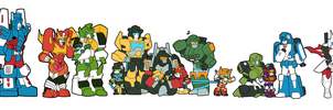 J-Decker x Transformers by Humblebot