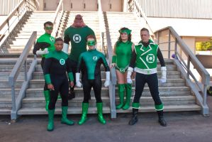 Green Lantern Corps by arivin923