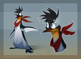 Bazil the pinguin by Dragibuz