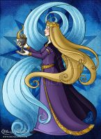 Iris -  The Queen of Cups by Monica-NG
