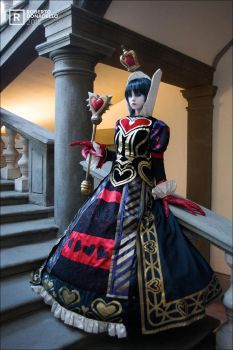 Welcome to my Kingdom- AMR Queen of Hearts cosplay by Achico-Xion