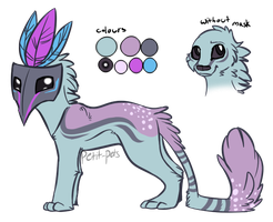 Custom creature adoptable 2 by Petit-Pets