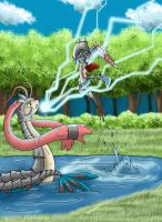 Milotic and Riolu used Role Play by Popokino
