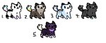 Cat Adopts (CLOSED) by Neon-Spots-Adopts