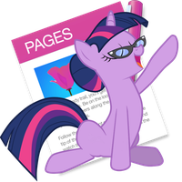 Pages Twilight Sparkle Yosemite Ponified Icon by Falcotte