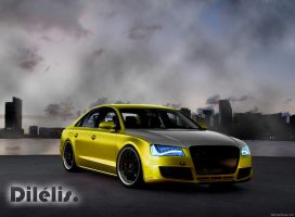 Audi A8 - tuning by dilelis