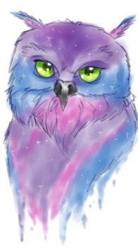 Space Owl by Sollun
