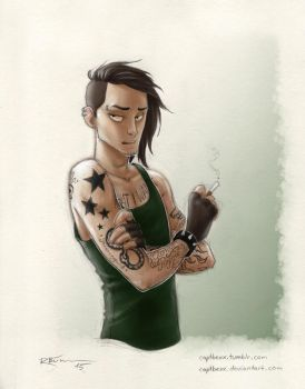 Rebellious/puberty Loki by CaptBexx