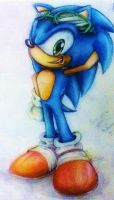 One Cool Dude - Colour pencil by MissTangshan95