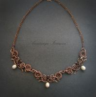 necklace with pearls by nastya-iv83
