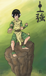 Bending Arts 4:Toph by blackbirdsfly