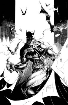 Batman - there you are - by Jason Metcalf by JasonMetcalf