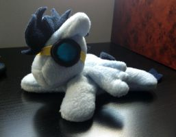 Soarin beanie plush new goggles by Bewareofkitty