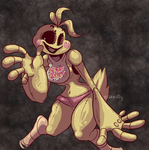 Toy Chica by Gheistly