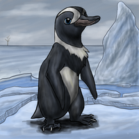 Wittle Independent Penguin by Acoyph