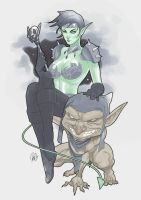 Commission: Goblin Queen by redgvicente