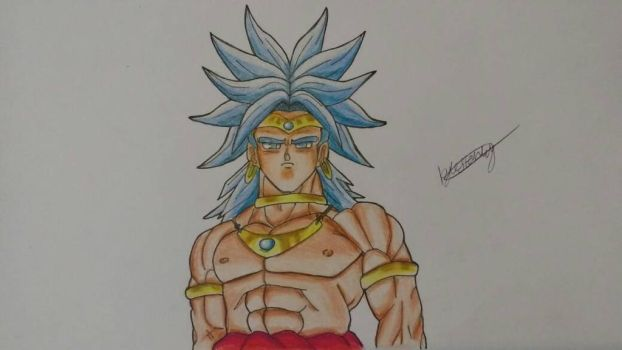 Broly RSSJ by Luxrainion