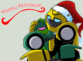 Happy Holidays by Tone-chan