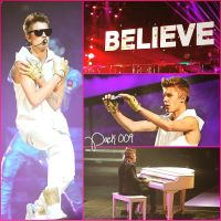Pack 009 Believe Tour by pompasdecolores