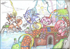 Sonic Boom - New adventures await! by ZennyTheHeddgehog