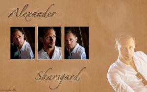 Wallpaper Alexander Skarsgard by Aiverybodii