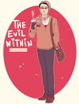 The Evil Within: Joseph Oda by SarlyneART