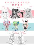 NEW ADOPTABLES [OPEN] Set Price LOWER PRICE by koyame