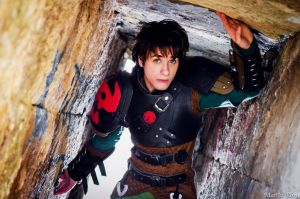 Hiccup - How to train your Dragon - Cosplay by AlexanDrake89