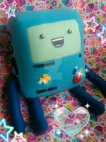 BMO plush by TiffyyyCuppyCake