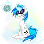 Vinyl Scratch by Xieril
