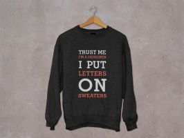 Letters on Sweaters by luisfccorreia
