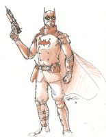 The Steampunk Batman by RobtheDoodler
