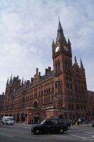 London St Pancras station by Greattie