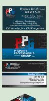 Property Professionals Group - Business Card by Two-Players