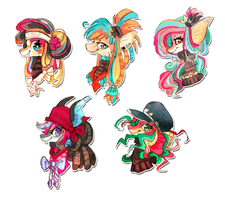 Fishy headshots by griffsnuff
