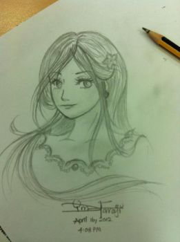 Quick Sketching @ my Office by DiiDo0o