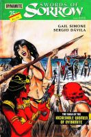Swords of Sorrow #5 variant cover by RobertHack